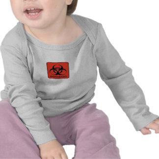 Biohazard 100% Cotton Longsleeve Baby Shirt
