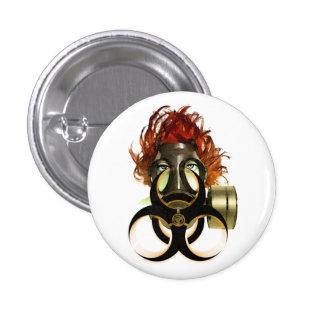 </biohazard> 1 inch round button