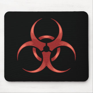 Biohazard 1 mouse pad