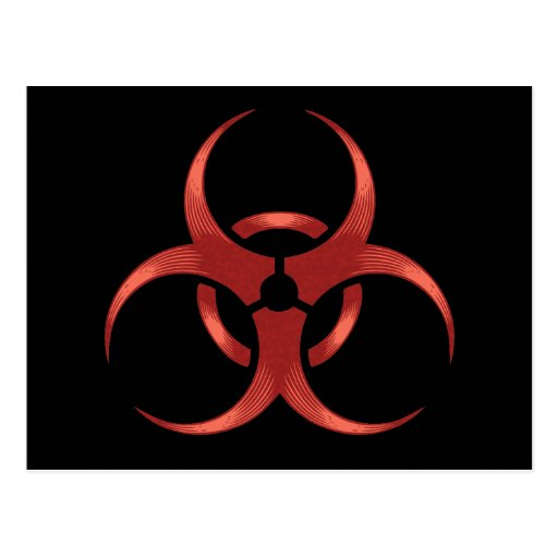 Biohazard 1 postcard