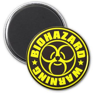 BIOHAZARD 2 INCH ROUND MAGNET