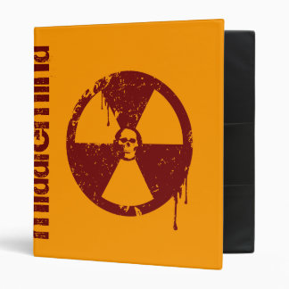 BioHazard 3 Ring Binder