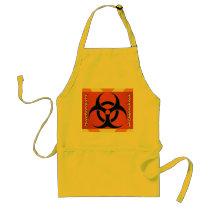 biohazard adult apron
