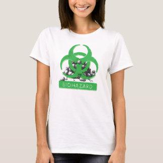 Biohazard and Skull Pile T-Shirt