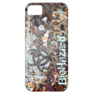 BioHazard Apocalyptic Rusted Grunge iPhone SE/5/5s Case