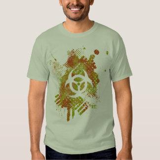 Biohazard Art Desgin Tee Shirt