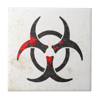 Biohazard Azulejos Cerámicos
