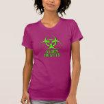 Biohazard - belleza extranjera camiseta