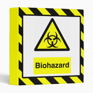 Biohazard Binder