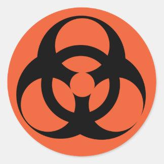 Biohazard - Biological Hazard Classic Round Sticker