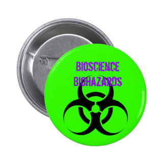 Biohazard, Bioscience Biohazards Button