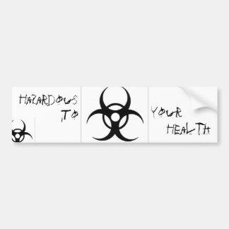 BioHazard Bumpter Sticker Bumper Stickers