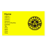 BIOHAZARD Double-Sided STANDARD BUSINESS CARDS (Pack OF 100)