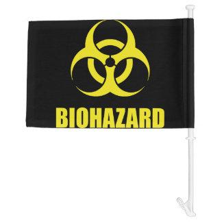 Biohazard Car Flag