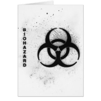 biohazard card
