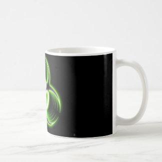 biohazard classic white coffee mug