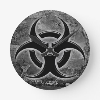 Biohazard clock