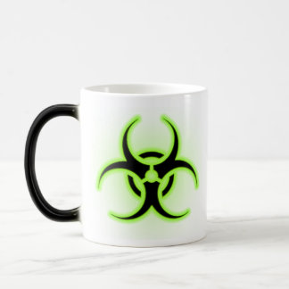 Biohazard Coffee 11 Oz Magic Heat Color-Changing Coffee Mug