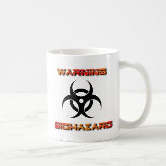 BIOHAZARD COFFEE MUG- Can you stomach it? Classic White Coffee Mug