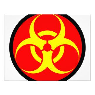 biohazard comunicados personalizados