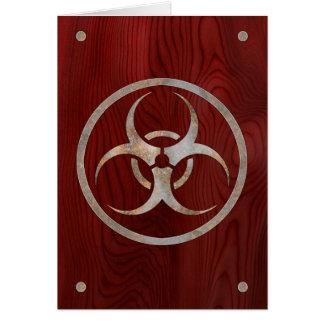 Biohazard Corroded Card