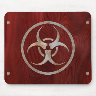 Biohazard Corroded Mouse Pad