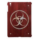 Biohazard corroído iPad mini protectores