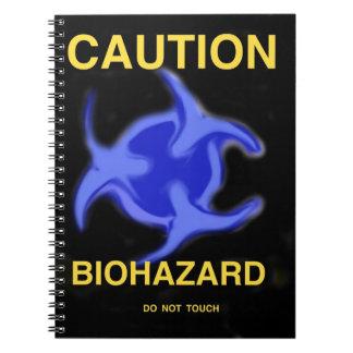 Biohazard Libros De Apuntes