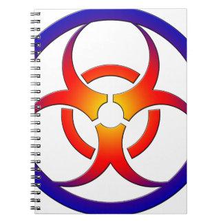Biohazard Libreta Espiral