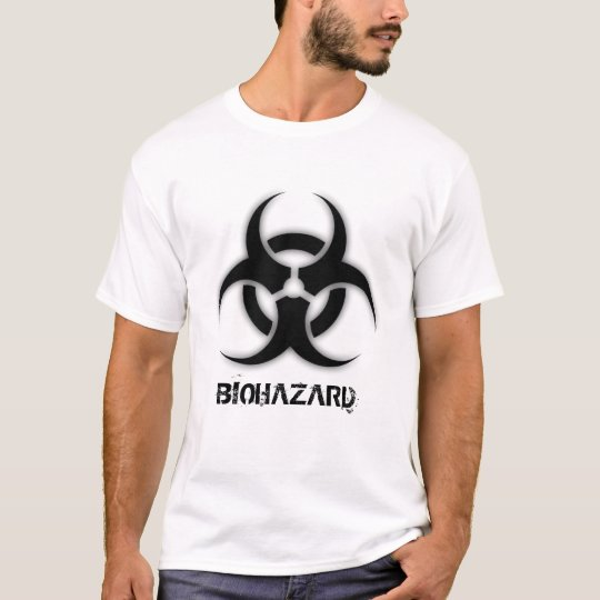 Biohazard Customizable T-Shirt