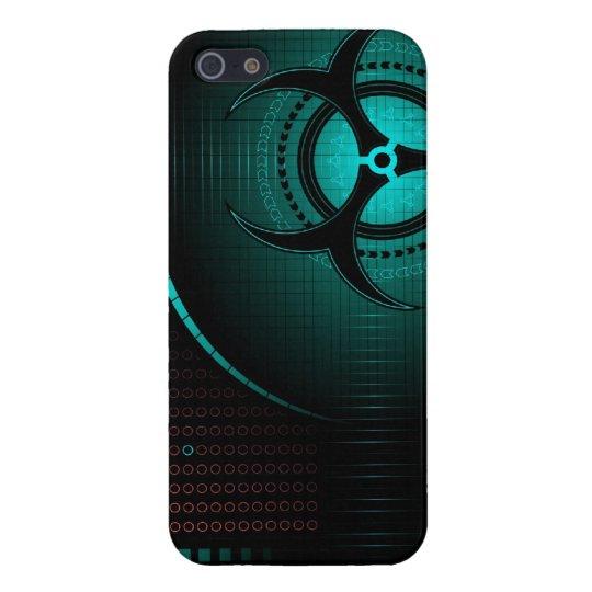 Biohazard dangerous zombie cool art iphone case de