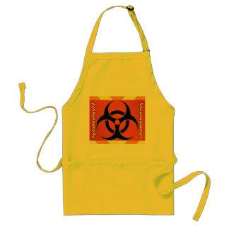 biohazard delantal