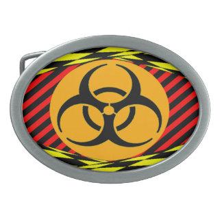 Biohazard Design by Kenneth yoncich Belt Buckle