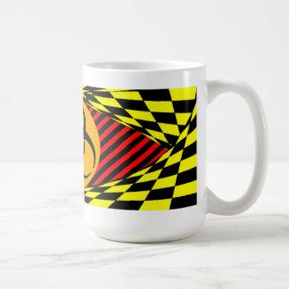Biohazard Design by Kenneth Yoncich Coffee Mug
