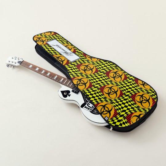 e8b745d5c4d Biohazard Design by Kenneth Yoncich Guitar Case   Zazzle.com