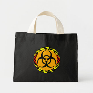 Biohazard Design by Kenneth Yoncich Mini Tote Bag