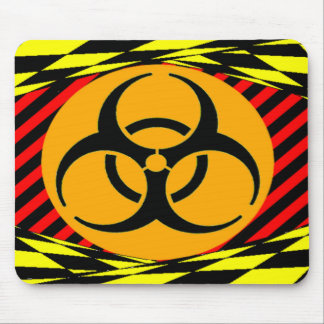 Biohazard Design by Kenneth Yoncich Mouse Pad