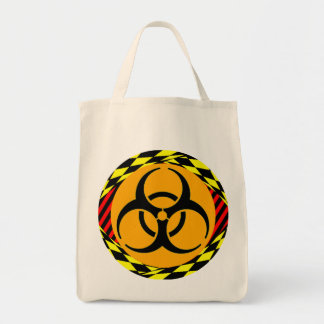 Biohazard Design by Kenneth Yoncich Tote Bag