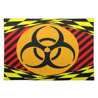 Biohazard Design Cloth Placemat