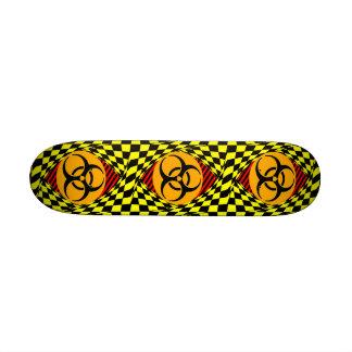 Biohazard Design Skateboard