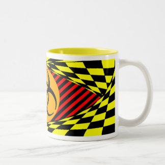 Biohazard Design Two-Tone Coffee Mug