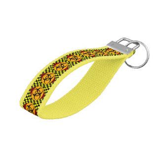 Biohazard Design Wrist Keychain