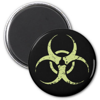 Biohazard - dist - verde imán