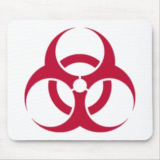 Biohazard - estilo 2 tapete de ratones