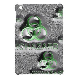 biohazard fallout contamination sign toxic green iPad mini case