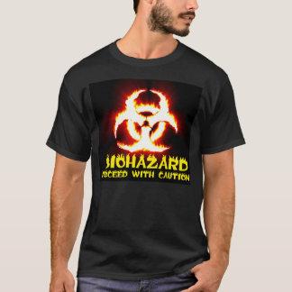 Biohazard Flames Tee