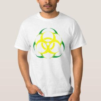 biohazard flower 2 tees