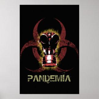 Biohazard Gas Mask Customizable Poster