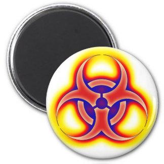 Biohazard Glow Magnet