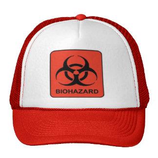 Biohazard Hat (Red)
